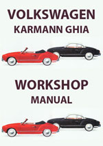 Volkswagen Karmann Ghia 1961-1965 Workshop Repair Manual & Spare Parts Catalogue