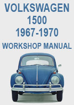 Volkswagen 1500 1967-1970 Workshop Repair Manual